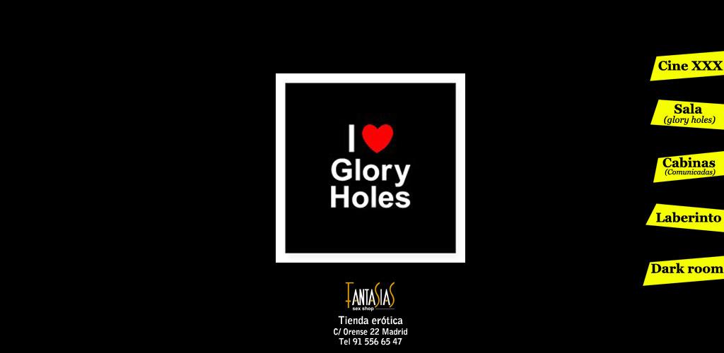 Gloryholes espiar