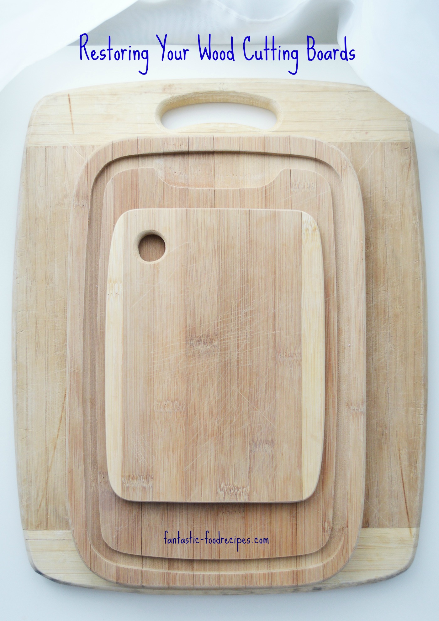 I Use This Cutting Board Periodically Restoring Your Wood Cutting Boards Fantastic Food Recipes