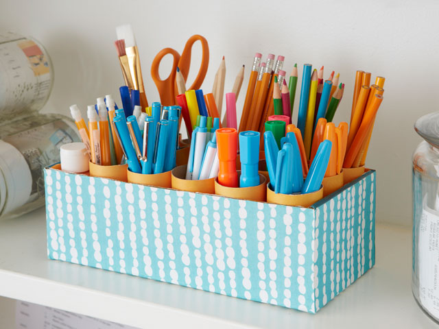 Schreibtisch Organizer Kinder 15 Interesting And Useful Diy Desk Organizers