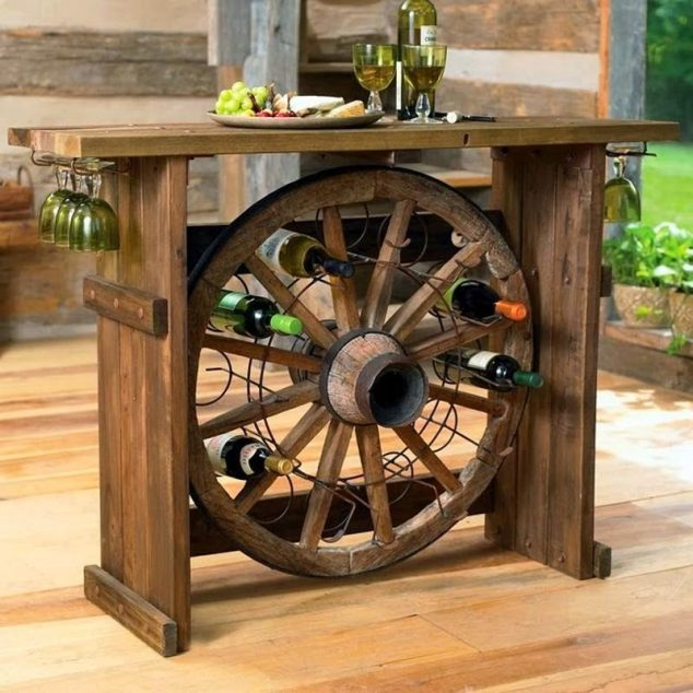 Lampe Selber Bauen 10 Diy Ideas How To Use Wagon Wheel In Garden Decor