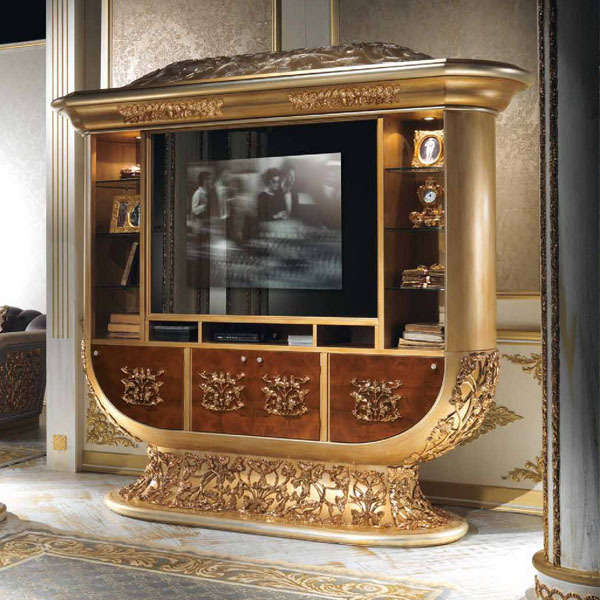 Meuble Tv Style Shabby 15 Luxury Golden Furniture Ideas To Make Your Day