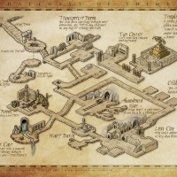 Hallways of Thime, un plan de donjons par Herwin Wielink