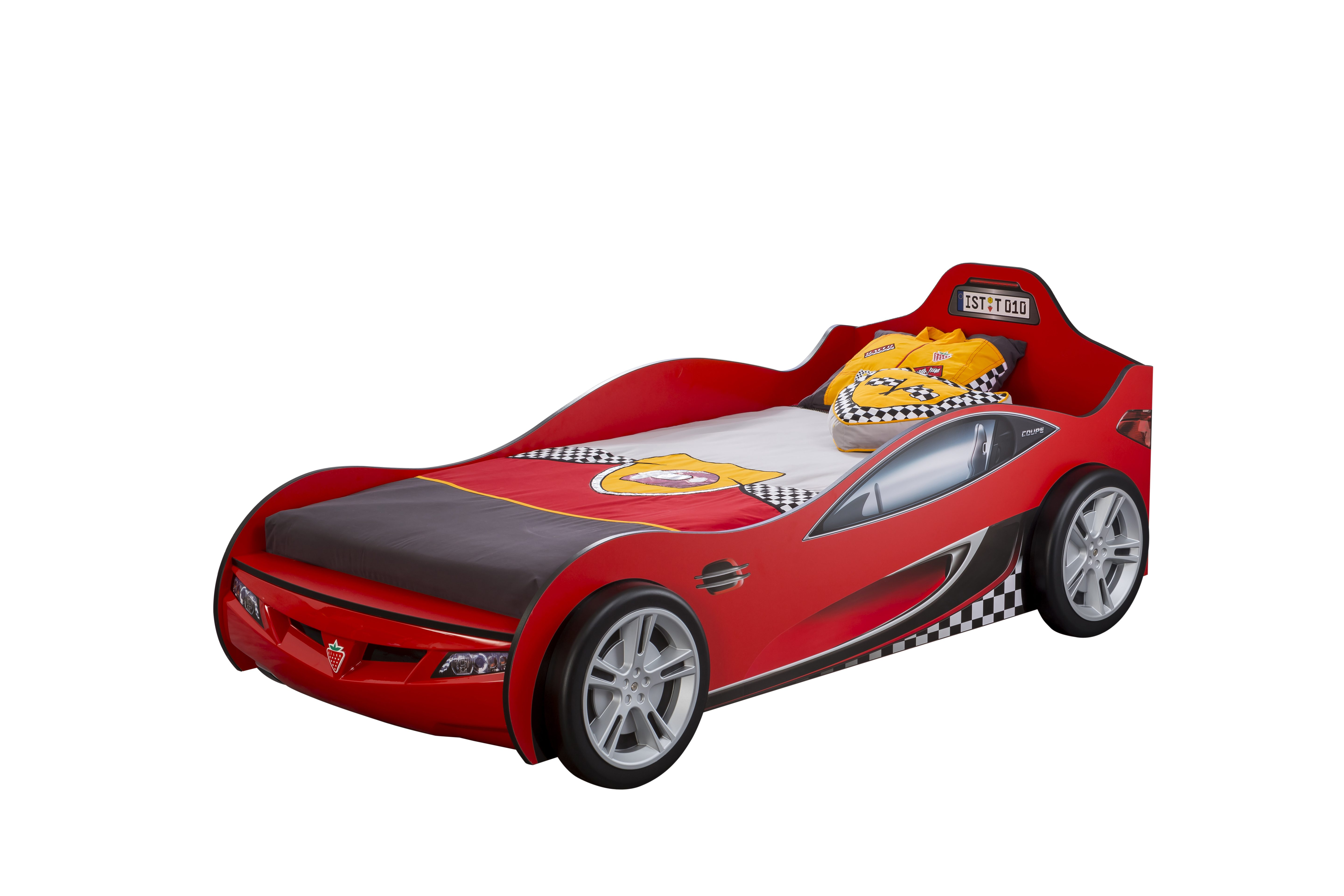 Red Kids Car Bed Cilek Coupe Racing Car Bed Fantasy - Cars Autobett