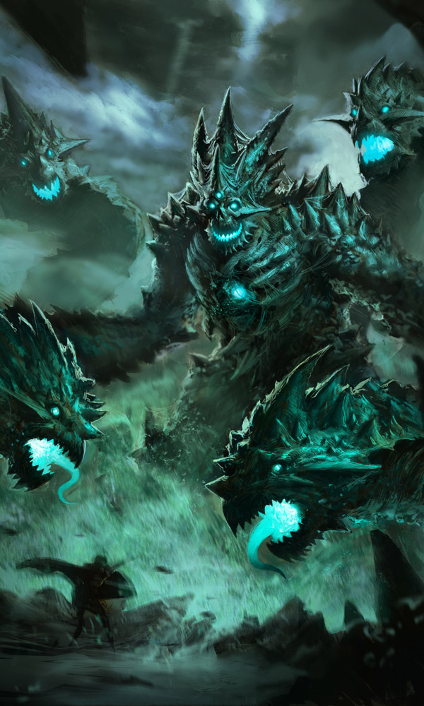 3d Fire Name Wallpaper Rift Evil Amp Deadly Colossus Concept Art Fantasy Inspiration
