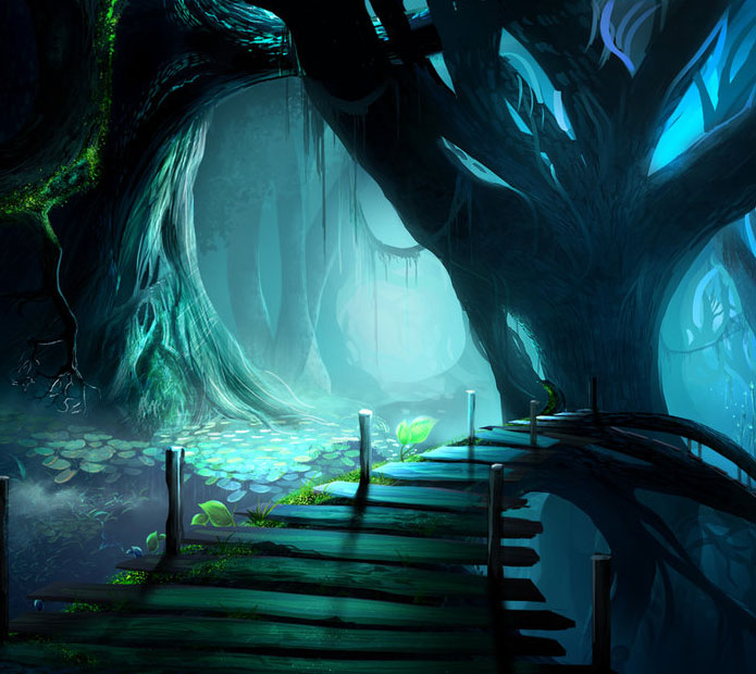 Mystical Creatures In The Fall Wallpaper Breathtaking Fantasy Landscapes Amp Scenery Fantasy