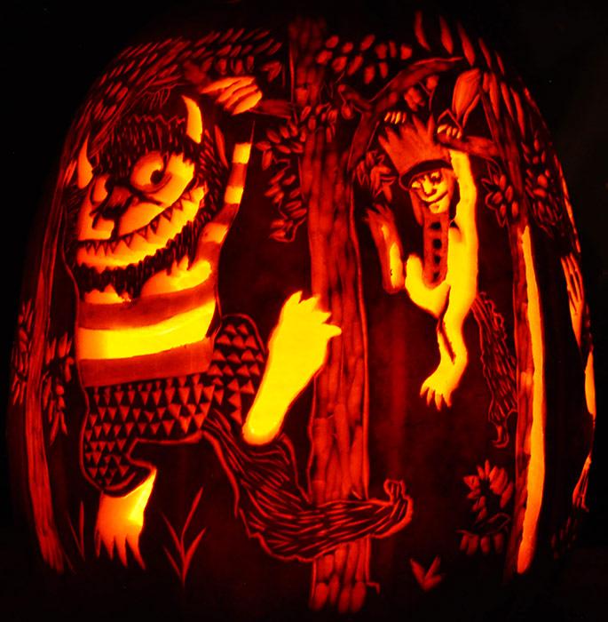 Tom And Jerry Wallpaper 3d Fantasy Pumpkins Noel S Pumpkin Carving Archive