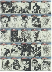 Marvel Sketch Cards 2