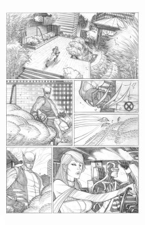 Astonishing X-Men Try-out. Seems like they were looking for someone to cover up for Jason Pearson ...