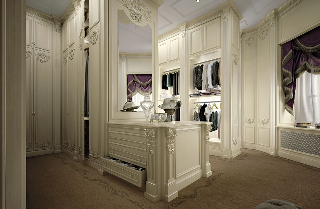 3d Wallpaper For Master Bedroom Bespoke Walk In Closet With Automation Systems Queen