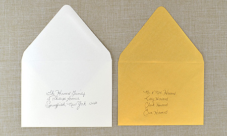 Cards  Pockets FAQ - What are outer envelopes and how are they used?