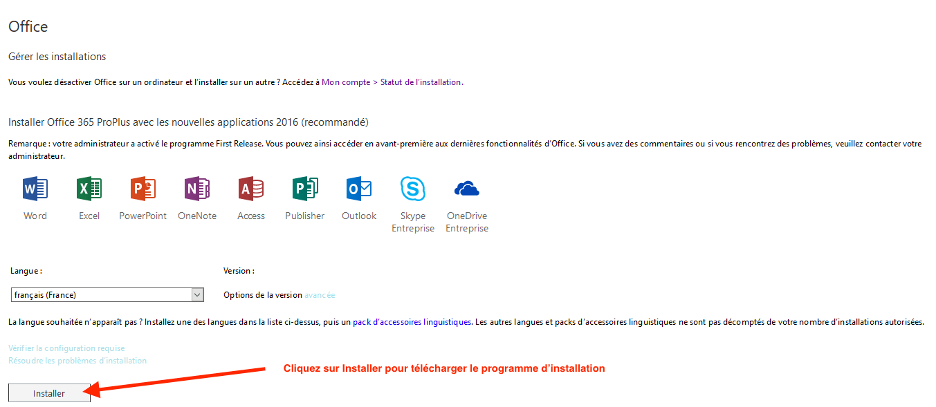 Telecharger Microsoft Office 365 Gratuit Etudiants Comment Obtenir Le Pack Office 365 Aide En Ligne