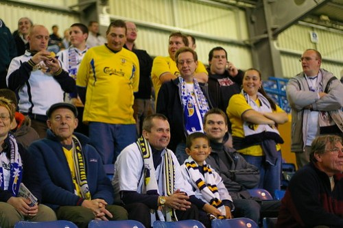Havant & Waterlooville Fans against Millwall