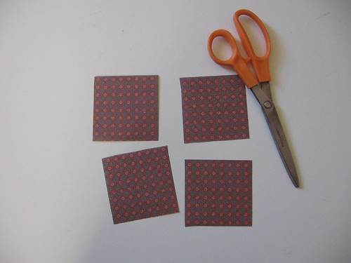 Little Squares of Origami Paper