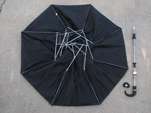Umbrella Bat Costume Update Now More Anatomically Correct