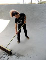 sweep-bleed