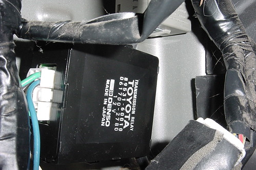 Toyota FJ80 Land Cruiser Center Diff Lock Control Relay