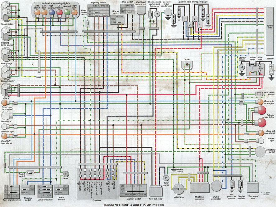 St1300 Wiring Diagram Wiring Diagram Ebook