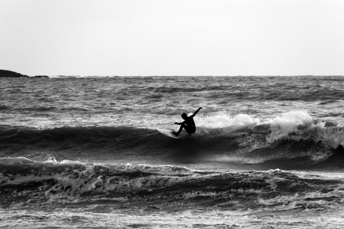 The Black Surfer