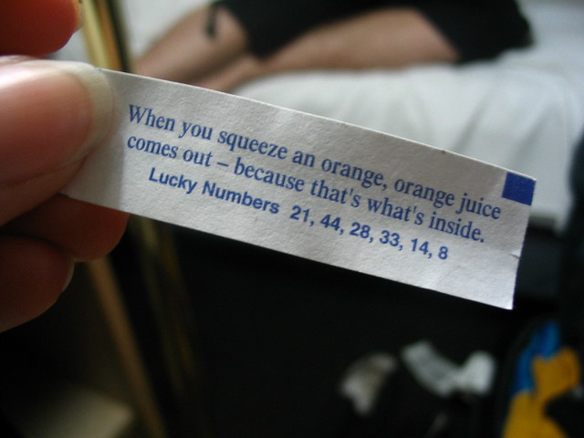 The Most Awesome Fortune Cookie Ever!