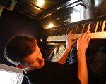 Steve at piano