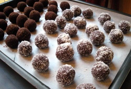 Palline di Cioccolato