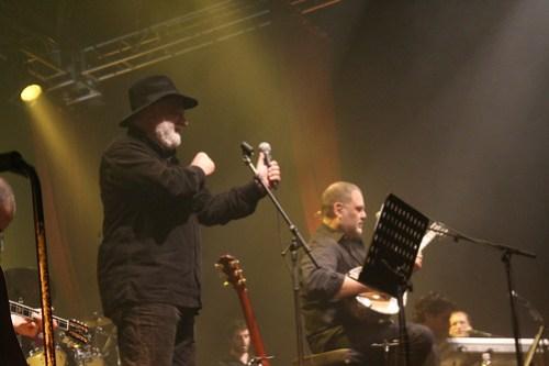 Yehuda Poliker & Manolis Rasoulis performing in Tel Aviv