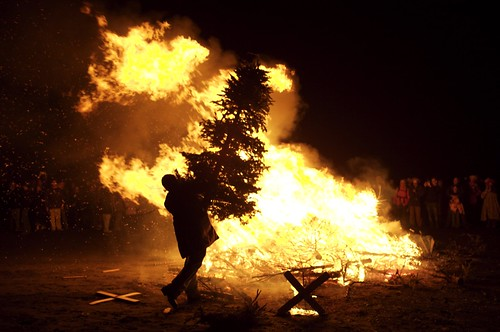 Post Yule Pyre