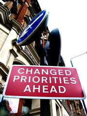 Change Priorities