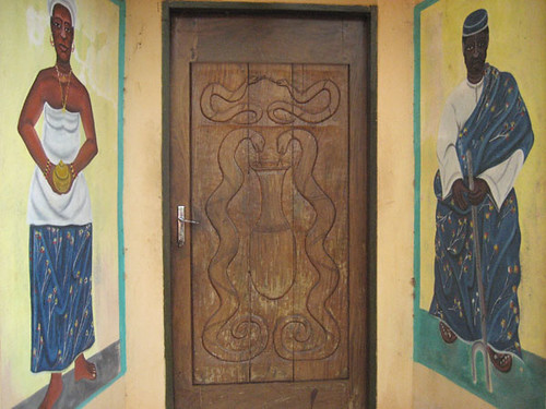 Ouidah, Benin: Temple of the Pythons