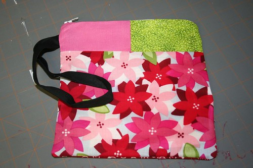 finished front of wristlet