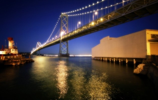 Bay Bridge Reflections
