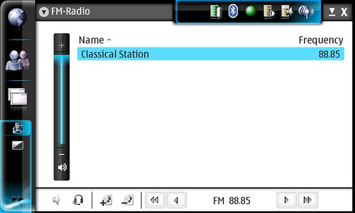 FM Radio on the N800