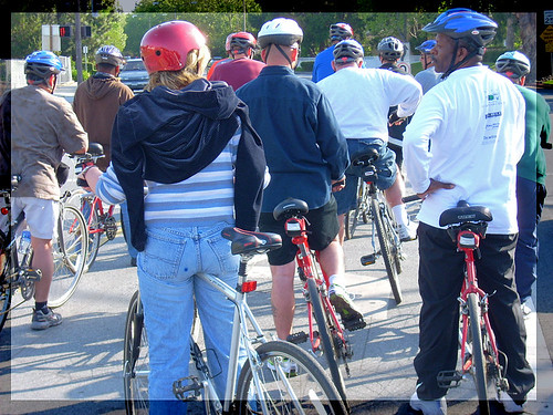 Veteran cyclists