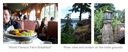 Columbia River Gorge Farm Breakfast