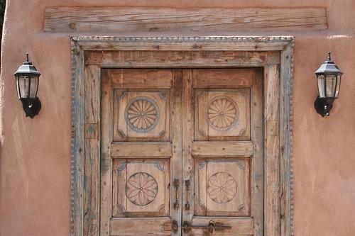 Wood door 1