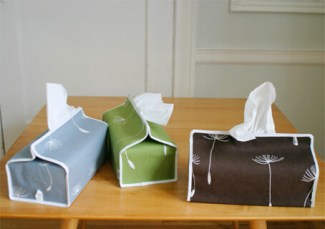 Lotta Jansdotter Pollino Tissue Box Covers