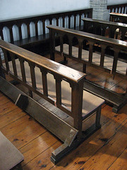 Pews, Wonhyoro Catholic Church