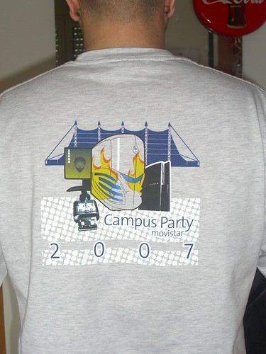 Camiseta Campus Party Barcelona 2007