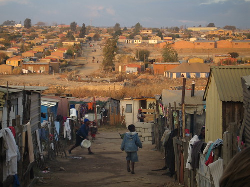 Slums in South Africa