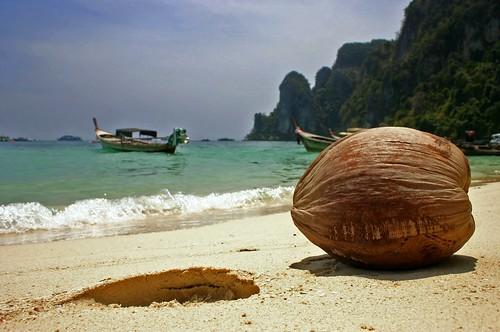 Phi Phi Island before the Tsunami