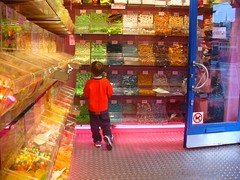 kid in a candy shop.