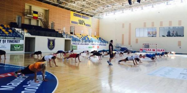 Handbalistele de la Corona dau startul pregătirilor pentru noul sezon