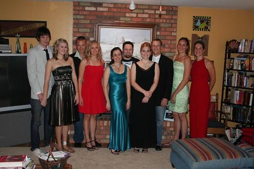 Group photo, Mini prom