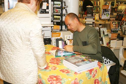 Signeersessie boek Sven Nys