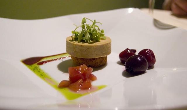 1st Course: Torchon of Foie Gras