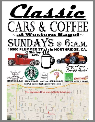 "NORTHRIDGE CA USA ""Classic Car and Coffee Show"" December 20 Sunday  6am credit: www.SoCalCarCulture.com • <a style=""font-size:0.8em;"" href=""http://www.flickr.com/photos/134158884@N03/23220458513/"" target=""_blank"">View on Flickr</a>"