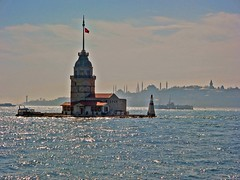 Madien's tower and Istanbul's silhuette 1 by istanbul_love