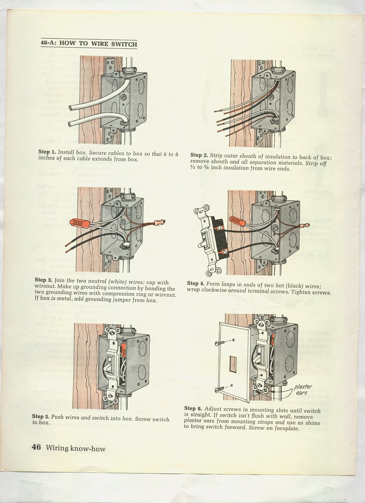 Basic Home Wiring Illustrated - Wiring Diagrams