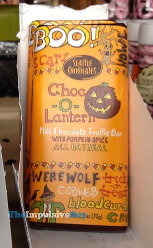 Seattle Chocolates Choc-o-Lantern Milk Chocolate Truffle Bar with Pumpkin Spice