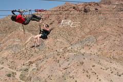 Jen Ziplining Rescue